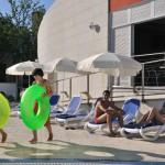 Camping Vestar beim Pool