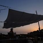 Camping Vestar sonnenuntergang