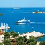 Hotel Istra Rovinj ankunft mit boot