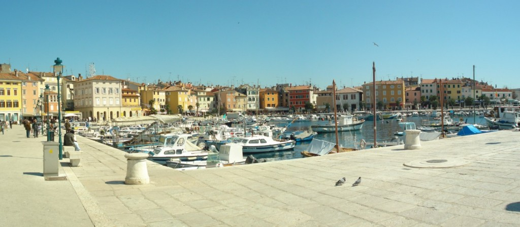 Small Marina in Rovinj
